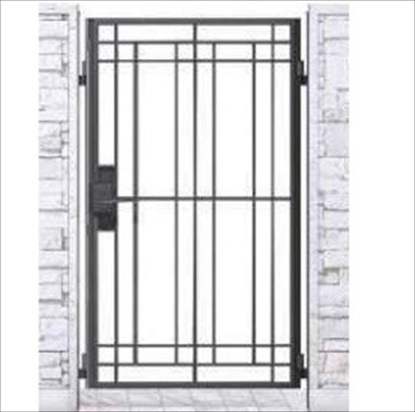 YKKAP シャローネ門扉 SB02型 片開き 門柱仕様 08-14