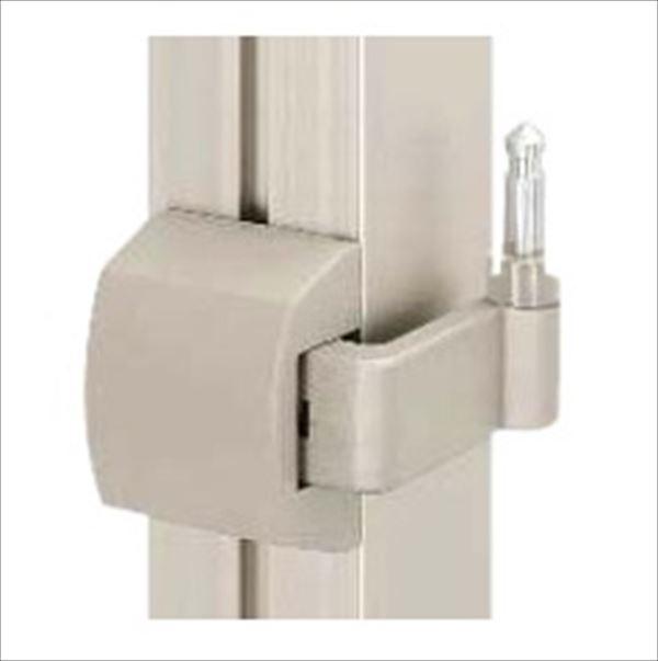 安全 YKKAP ベーシックを極めたシンプルなデザインが幅広い住宅スタイルにマッチ シンプレオ門扉 オプション 外開き対応 3枚折戸セット用 安全 本体と同時購入価格