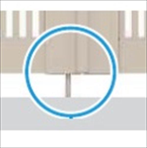 YKKAP ベーシックを極めたシンプルなデザインが幅広い住宅スタイルにマッチ シンプレオ門扉 ハイクオリティ オプション 本体と同時購入価格 送料無料カード決済可能 1本 折戸セット用 追加用落とし