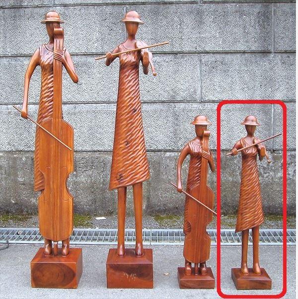 ジャービス商事 装飾アイテム ミュージック人形 バイオリンSサイズ #99267