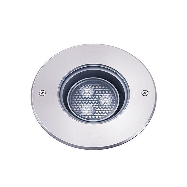 タカショー グランドライト(100V) シンプルLED グランドライトスイング2型 グレアレス (LED:白色) HFF-W20S #74434300 『ローボルトライト』 『エクステリア照明 ライト』