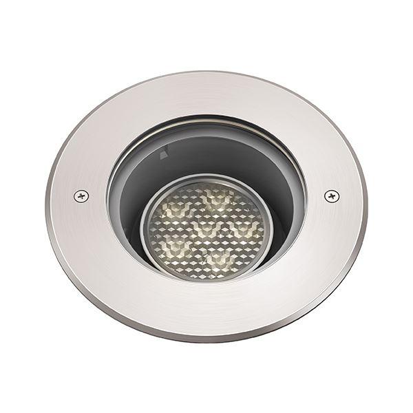 タカショー グランドライト(100V) シンプルLED グランドライトスイング3型 グレアレス (LED:電球色) HFF-D21S #74425100 『ローボルトライト』 『エクステリア照明 ライト』