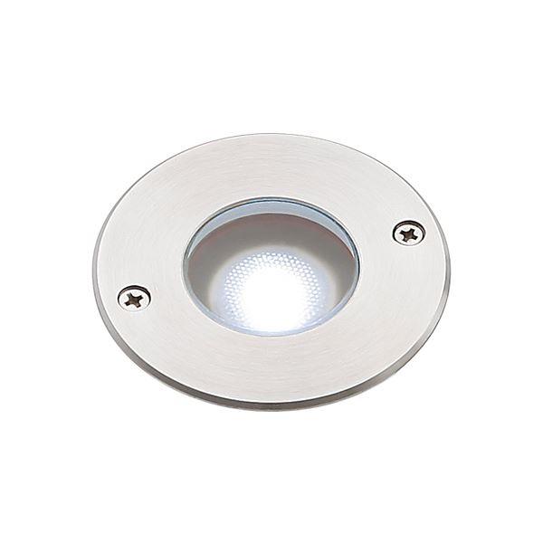 タカショー グランドライト(100V) シンプルLED グランドライト1型 15mm厚ガラス仕様 (LED:白色) HFF-W23S #74437400 『ローボルトライト』 『エクステリア照明 ライト』