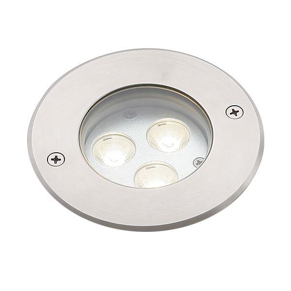 タカショー グランドライト(100V) シンプルLED グランドライト2型 15mm厚ガラス仕様 (LED:電球色) HFF-D24S #74428200 『ローボルトライト』 『エクステリア照明 ライト』