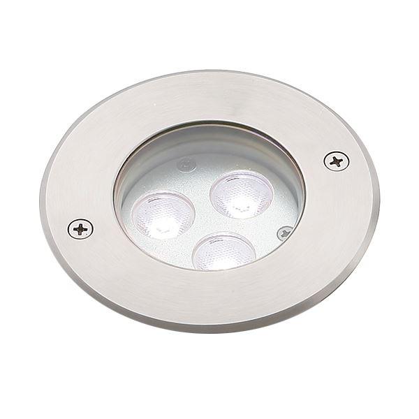 タカショー グランドライト(100V) シンプルLED グランドライト2型 15mm厚ガラス仕様 (LED:白色) HFF-W24S #74438100 『ローボルトライト』 『エクステリア照明 ライト』