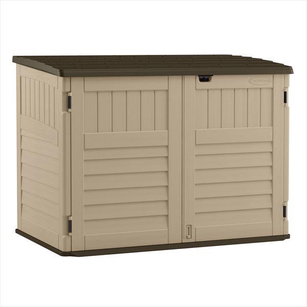 SUNCAST ボックス収納庫 BMS4711 ボックスキャビネット Country(カントリー)   『サンキャスト おしゃれ 物置小屋 屋外 DIY向け』