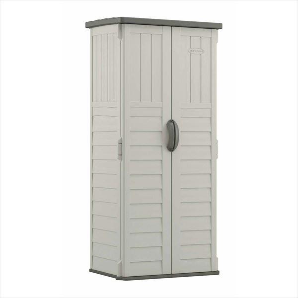 SUNCAST ボックス収納庫 BMS1250 トールキャビネット Stoney(ストーニー)   『サンキャスト おしゃれ 物置小屋 屋外 DIY向け』