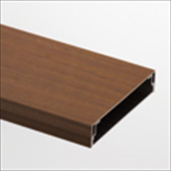 リクシル TOEX デザイナーズパーツ 笠木 120×24 L4000 アルミ形材色 シャイングレー  8TYD66□□ 『外構DIY部品』 シャイングレー
