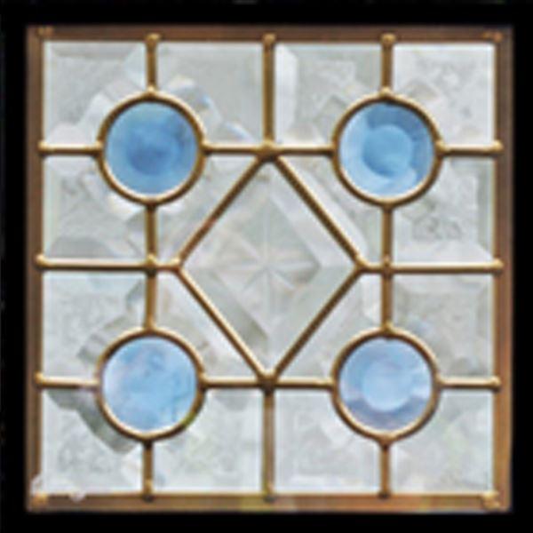 セブンホーム ステンドグラス ピュアグラス Dサイズ SH-D01