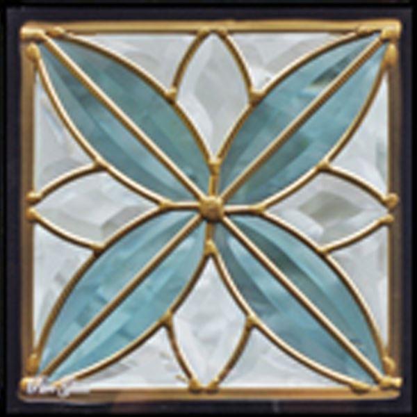 セブンホーム ステンドグラス ピュアグラス Dサイズ SH-D05