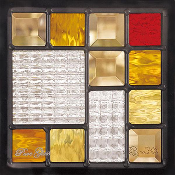 セブンホーム ステンドグラス ピュアグラス Dサイズ SH-D07