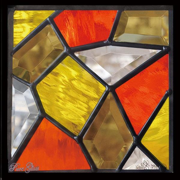 セブンホーム ステンドグラス ピュアグラス Dサイズ SH-D22