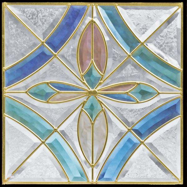 セブンホーム ステンドグラス ピュアグラス Fサイズ SH-F01