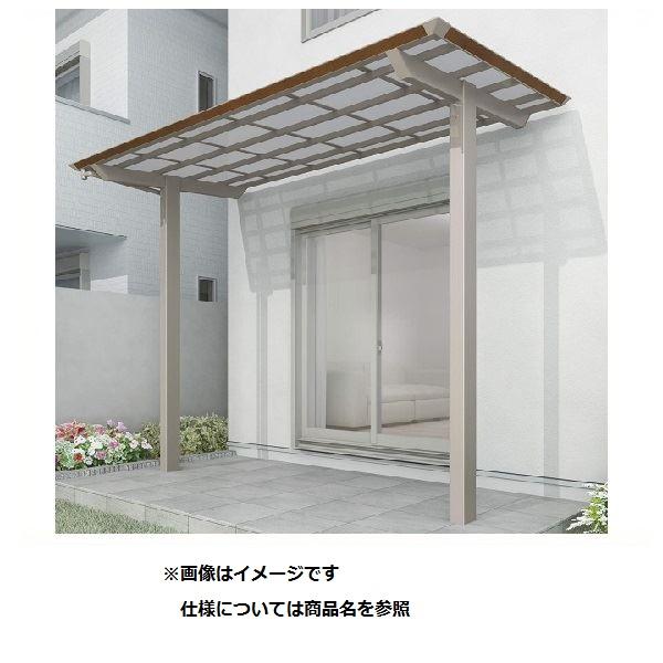 四国化成 スマート トップ 連棟セット 中柱仕様 標準高 間口3624×4尺(1257) LSMTC-K3713 木調タイプ/熱線吸収ポリカ  ※単体購入不可