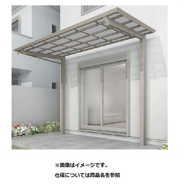 四国化成 スマート トップ 基本セット 後柱仕様 標準高 間口3742×4尺(1257) SMTB-K3713SC アルミタイプ(ステンカラー)/熱線吸収ポリカ