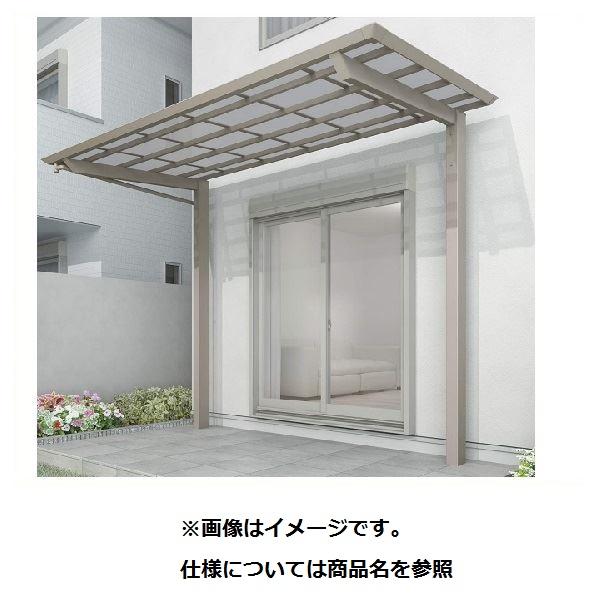 四国化成 スマート トップ 基本セット 後柱仕様 標準高 間口3742×6尺(1854) SMTB-K3719 木調タイプ/熱線吸収ポリカ
