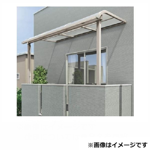 四国化成 バリューテラスE Rタイプ バルコニータイプ 基本セット 奥行移動桁タイプ 標準高 2間(3640mm)×5尺(1475mm) VRB-EK3615 熱線吸収ポリカ板 (2階用)