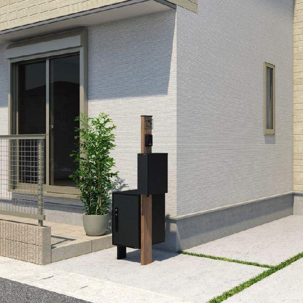 三協アルミ  機能ポール  エスポ  3型  プラン4-2017  サンシルバー 『機能門柱 機能ポール』