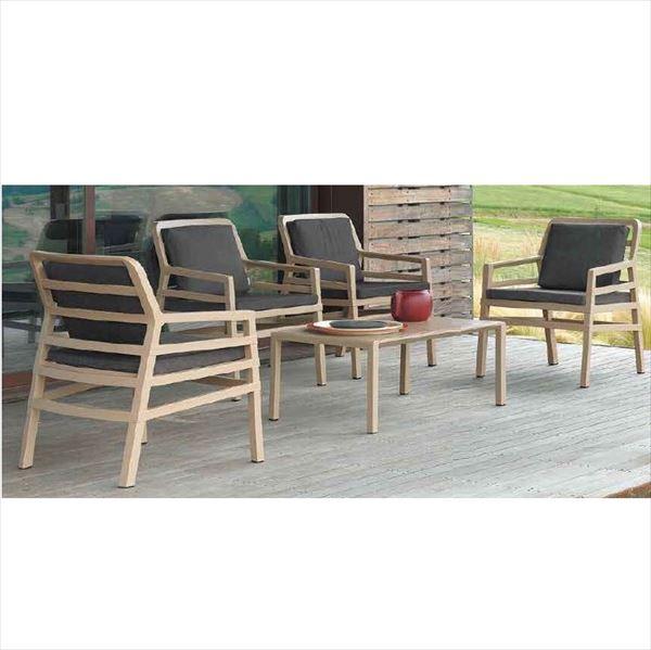 タカショー アリア テーブルチェア5点セット 『ガーデンチェア ガーデンテーブル セット』
