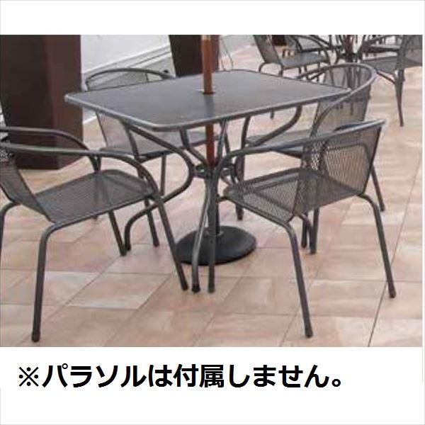 タカショー メタルワークフォーガーデン テーブルチェア5点セット *パラソルは含まれません。 『ガーデンチェア ガーデンテーブル セット』