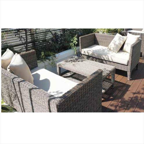 タカショー タリナ テーブルチェア3点セット 『ガーデンチェア ガーデンテーブル セット』