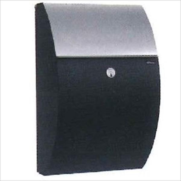 JULIANA(ジュリアナ社) パトリシア   ALLUX-7000 ブラック&ステンレス  F47479 『郵便ポスト 壁付け 北欧デザイン おしゃれ』