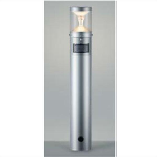 コイズミ ツインルックス モダンタイプ マルチタイプ 人感センサ付 AU45488L 『ガーデンライト エクステリア照明 ライト LED』 シルバーメタリック
