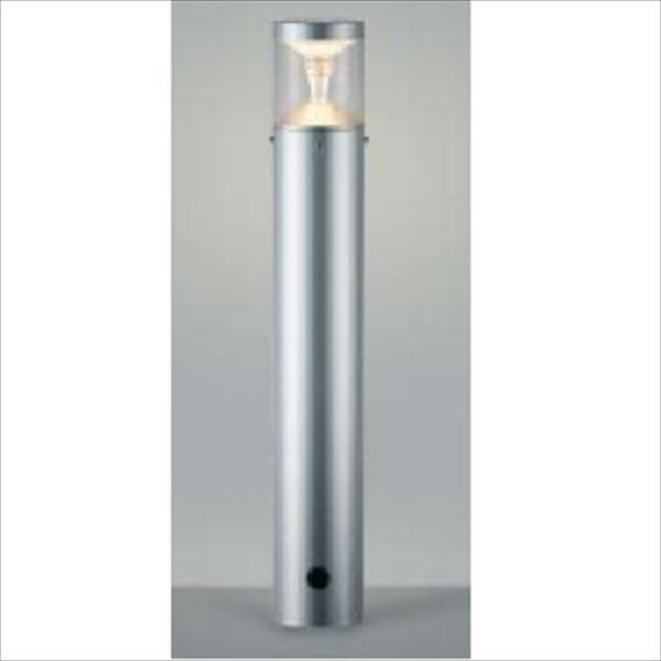 コイズミ ツインルックス モダンタイプ AU45490L 『ガーデンライト エクステリア照明 ライト LED』 シルバーメタリック