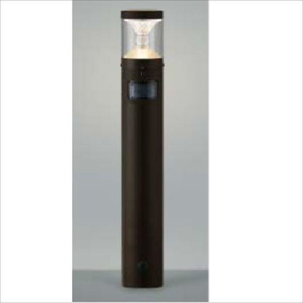 コイズミ ツインルックス クラシカルタイプ マルチタイプ 人感センサ付 AU45498L 『ガーデンライト エクステリア照明 ライト LED』 ブラウン
