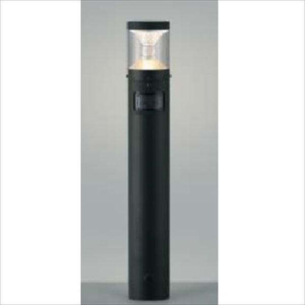 コイズミ ツインルックス クラシカルタイプ マルチタイプ 人感センサ付 AU45499L 『ガーデンライト エクステリア照明 ライト LED』 黒色