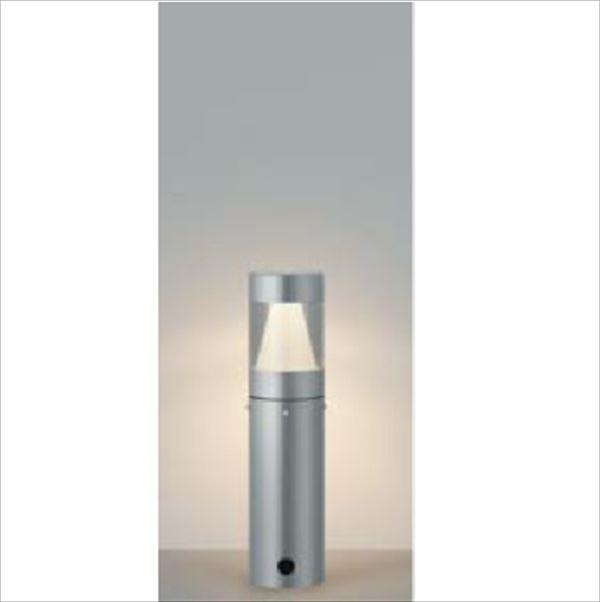 コイズミ ガーデンライト E.L.H 360°配光 AU43920K 『ガーデンライト エクステリア照明 ライト LED』 シルバーメタリック