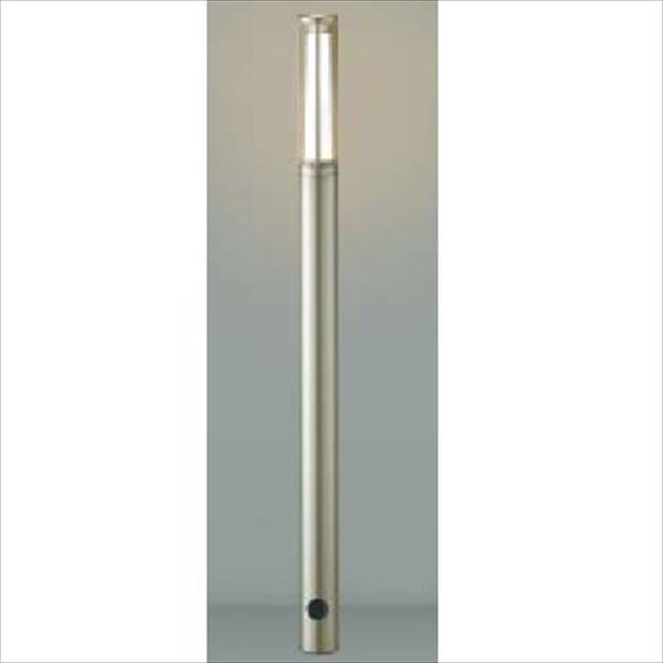 コイズミ ガーデンライト スリム AU40164L 『ガーデンライト エクステリア照明 ライト LED』 ウォームシルバー