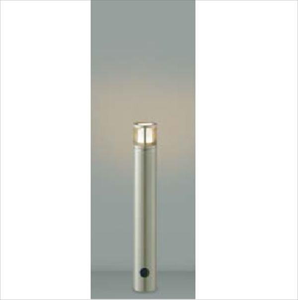 コイズミ ガーデンライト スリム AU40167L 『ガーデンライト エクステリア照明 ライト LED』 ウォームシルバー