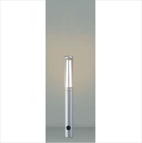 コイズミ ガーデンライト スリム AU40169L 『ガーデンライト エクステリア照明 ライト LED』 シルバーメタリック