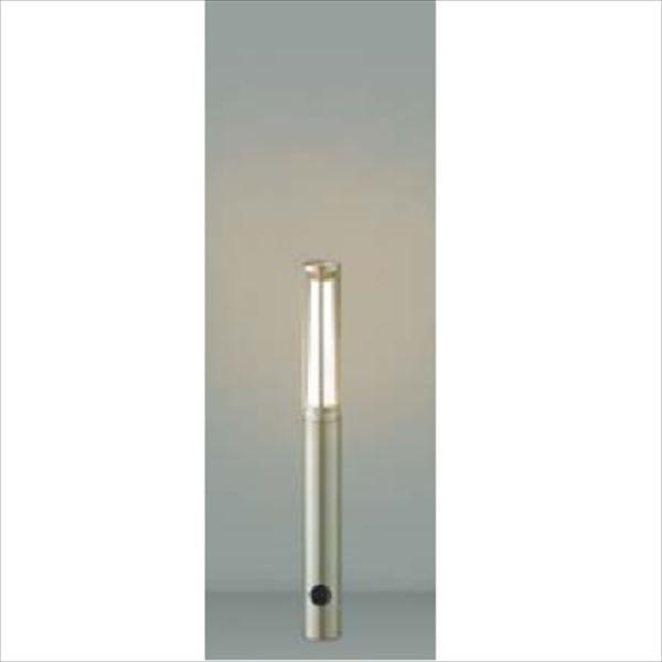 コイズミ ガーデンライト スリム AU40170L 『ガーデンライト エクステリア照明 ライト LED』 ウォームシルバー