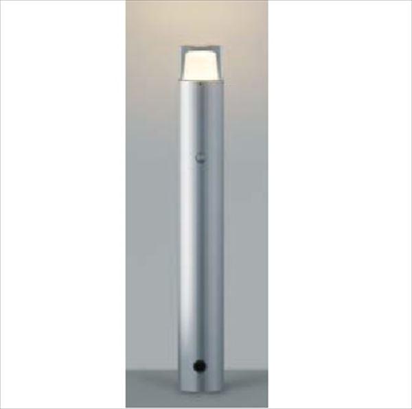 コイズミ ガーデンライト 自動点滅器タイプ AU42258L 『ガーデンライト エクステリア照明 ライト LED』 シルバーメタリック