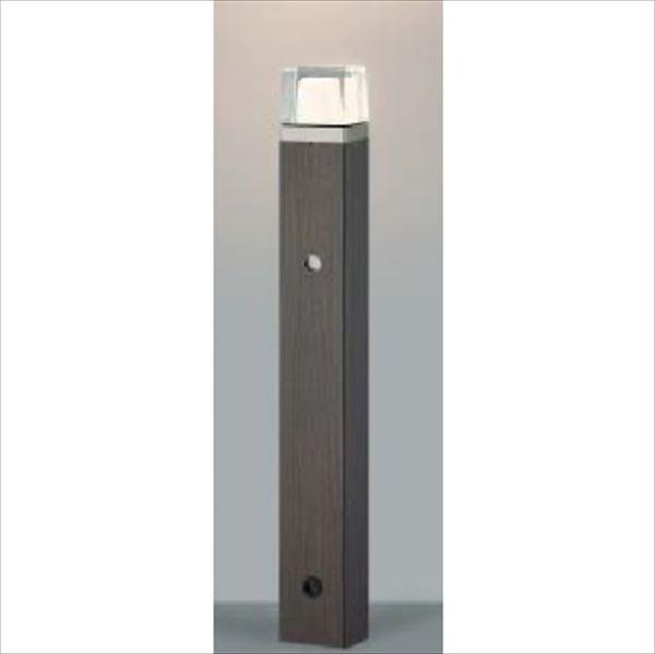 コイズミ 木調ガーデンライト 自動点滅器タイプ AU42283L 『ガーデンライト エクステリア照明 ライト LED』 シックブラウン