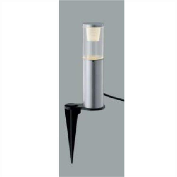 コイズミ ガーデンライト ラウンド配光タイプ AU45260L 『ガーデンライト エクステリア照明 ライト LED』 シルバーメタリック