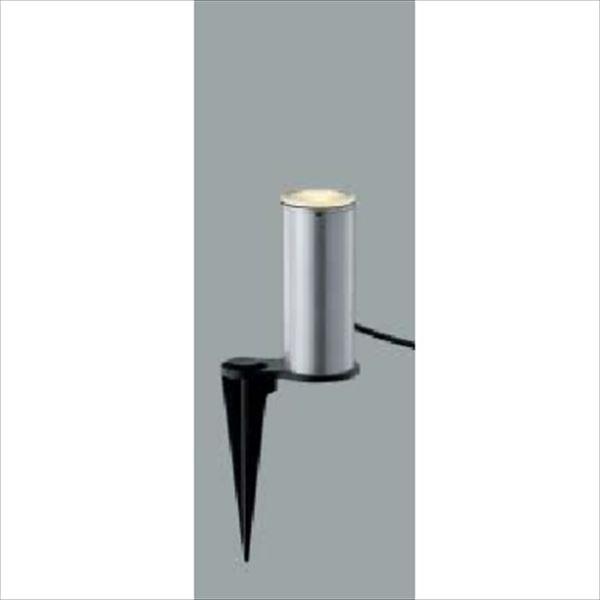 コイズミ ガーデンライト アッパー配光タイプ AU45266L 『ガーデンライト エクステリア照明 ライト LED』 シルバーメタリック