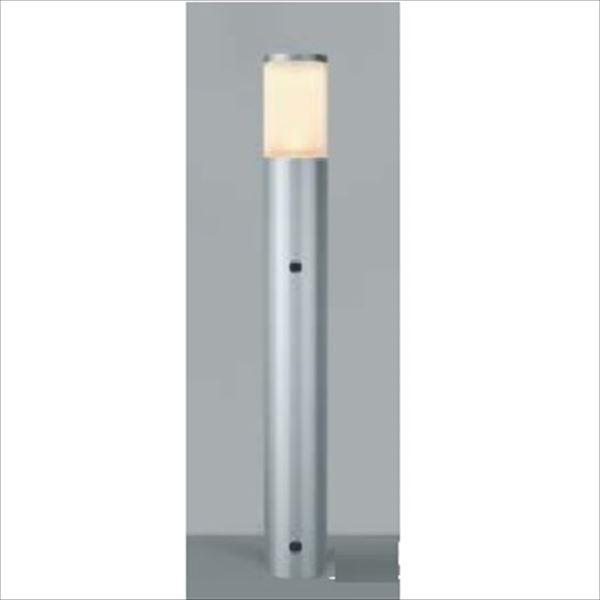 コイズミ ガーデンライト 自動点滅器付 AU42277L 『ガーデンライト エクステリア照明 ライト LED』 シルバーメタリック