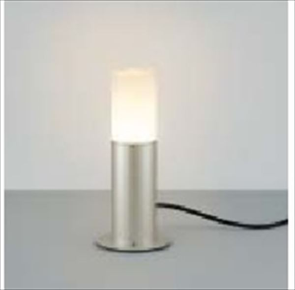 コイズミ ガーデンライト AU45179L 『ガーデンライト エクステリア照明 ライト LED』 シルバーメタリック