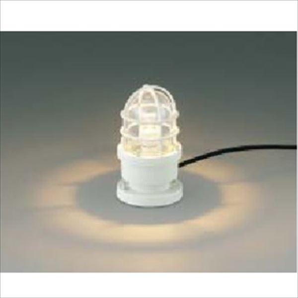 コイズミ ガーデンライト AU40189L 『ガーデンライト エクステリア照明 ライト LED』 オフホワイト
