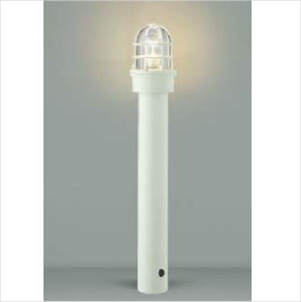 コイズミ ガーデンライト AU40206L 『ガーデンライト エクステリア照明 ライト LED』 オフホワイト