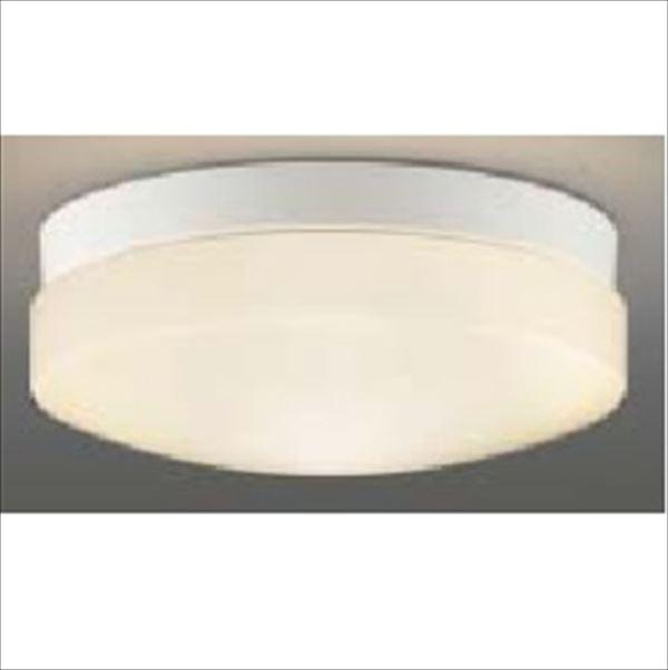 コイズミ 軒下シーリング 「防雨・防湿型」 LEDランプタイプ FCL30Wクラス 直付・壁付取付 AU46885L 電球色 『ガーデンライト エクステリア照明 ライト LED』 白色