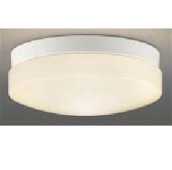 コイズミ 軒下シーリング 「防雨・防湿型」 LEDランプタイプ FCL30Wクラス 直付・壁付取付 AU46887L 電球色 『ガーデンライト エクステリア照明 ライト LED』 黒色