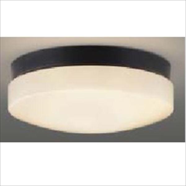 コイズミ 軒下シーリング 「防雨・防湿型」 LEDランプタイプ FCL20Wクラス 直付・壁付取付 AU46892L 昼白色 『ガーデンライト エクステリア照明 ライト LED』 黒色