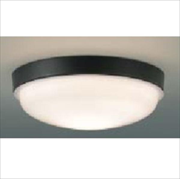 コイズミ 軒下シーリング 「防雨・防湿型」 LED一体型 FCL20Wクラス 直付・壁付取付 AU42228L 電球色 『ガーデンライト エクステリア照明 ライト LED』 黒色