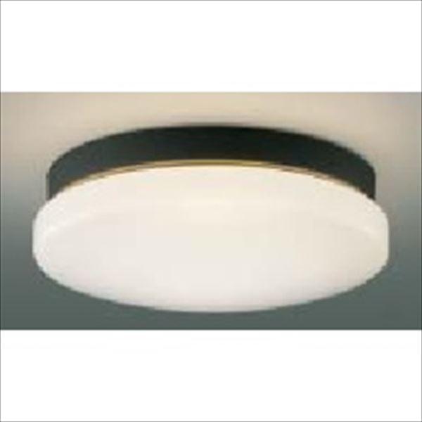 コイズミ 軒下シーリング 「防雨・防湿型」 ON-OFFタイプ FCL30Wクラス 直付・壁付取付 AU45017L 昼白色 『ガーデンライト エクステリア照明 ライト LED』 黒色
