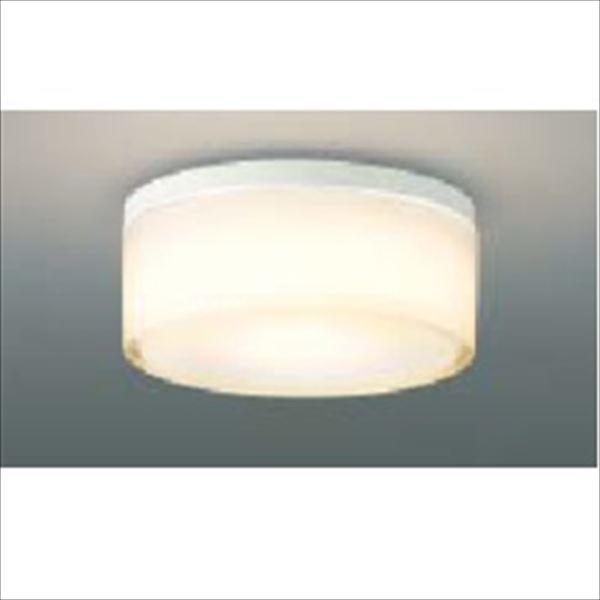 コイズミ 薄型軒下シーリング 「防雨・防湿型」 ON-OFFタイプ 白熱球100Wクラス 直付・壁付取付 AU45033L 電球色 『ガーデンライト エクステリア照明 ライト LED』 ファインホワイト