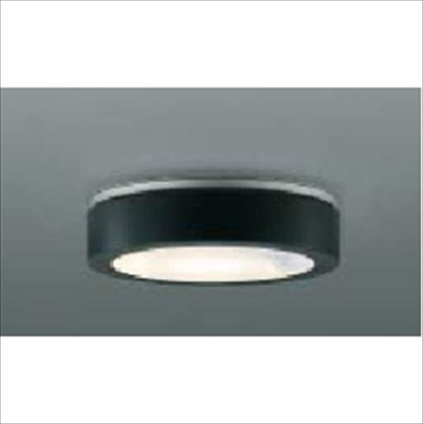 コイズミ 薄型軒下シーリング 人感センサマルチタイプ 白熱球100Wクラス AU42190L 『ガーデンライト エクステリア照明 ライト LED』 黒色